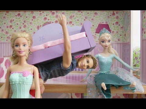 Barbie Ev Eşyalarını Ken'e Taşıtıyor Elsa ve chelsea Hiç Yardımcu Olmuyo...