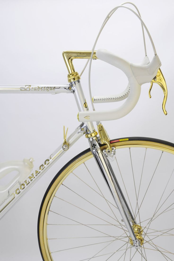 Haak Bike Colnago Arabesque Custom made. Vintage Luxury Bicycles