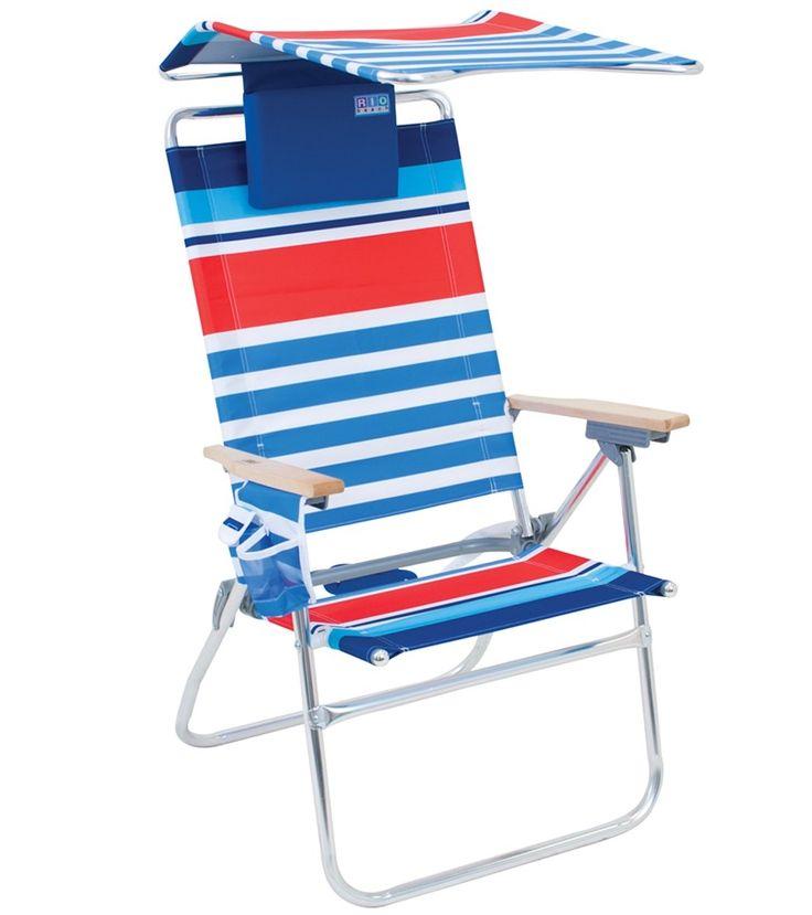 Rio High Boy Beach Chair With Canopy  sc 1 st  Pinterest & Best 25+ Beach chair with canopy ideas on Pinterest   Shabby chic ...