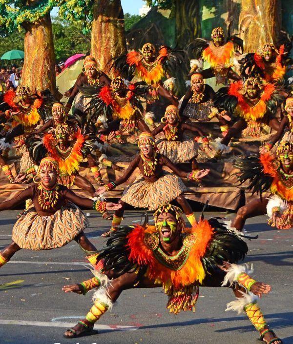 Festival Sinulog, Cebu, Filipinas.