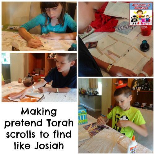 King Josiah scroll activity