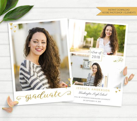 Best  Graduation Announcement Template Ideas On