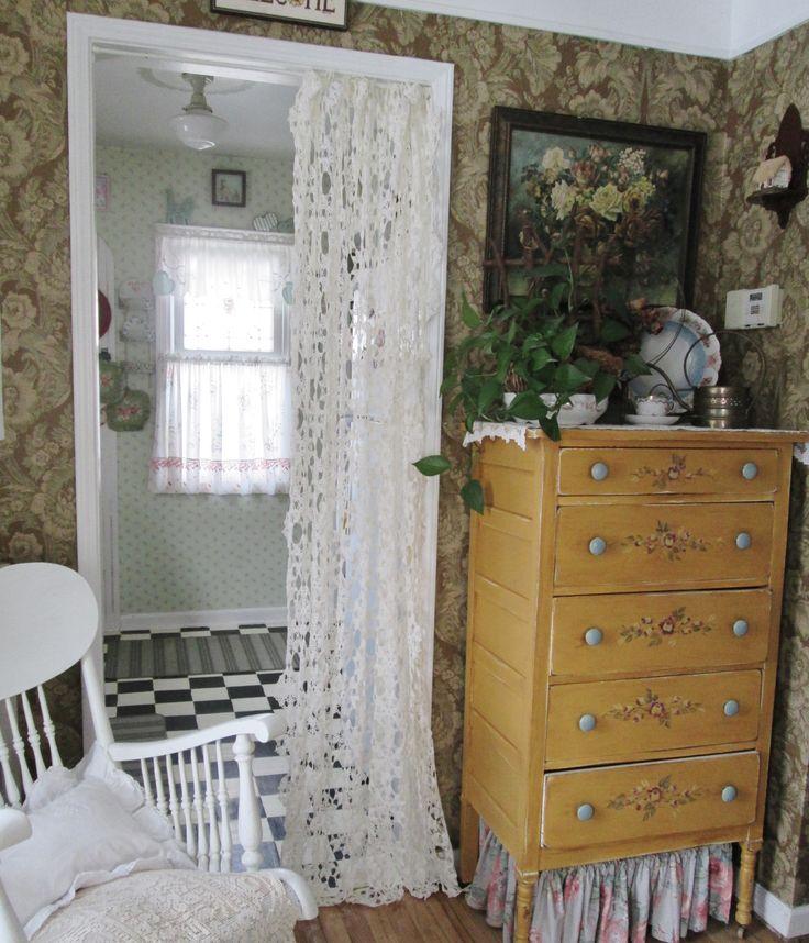Cottage Bedroom Curtain Ideas: 17 Best Ideas About Doorway Curtain On Pinterest