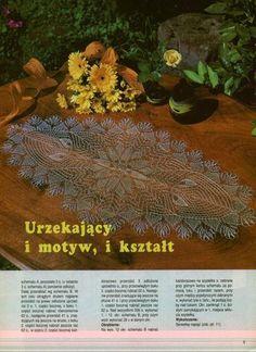 Kira knitting: Scheme knitted tablecloths 7