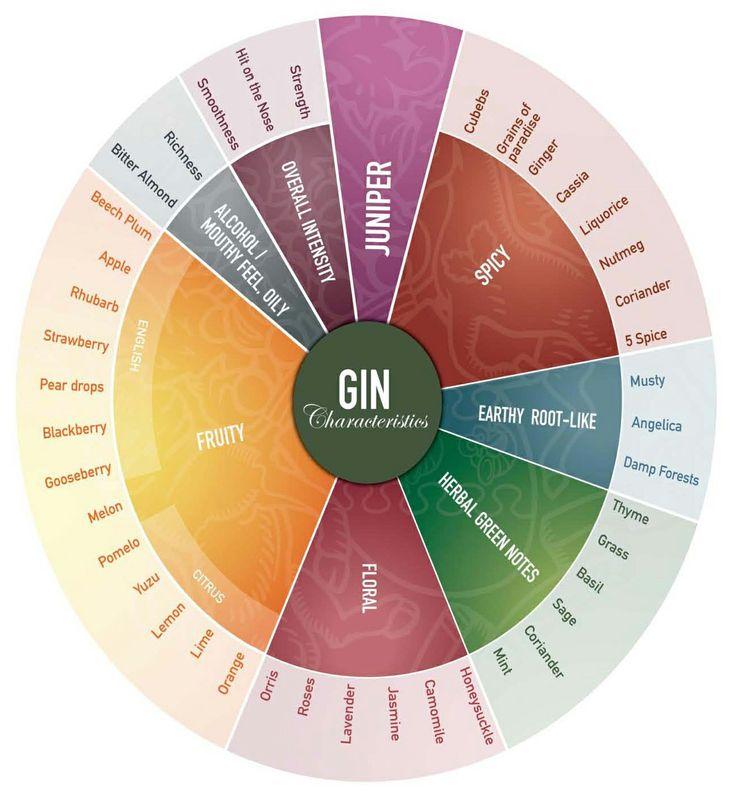 Gin Flavour Wheel