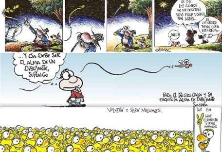 Los humoristas despiden a Caloi