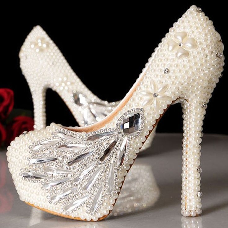 https://fashiongarments.biz/products/eegant-designs-handmade-ladies-ivory-bridesmaid-shoes-4-inches-heels-wedding-dress-shoes-celebration-party-prom-pumps/,    Welcome to our Store  Description:  Color: Ivory  Toe Shape: Round Toe  Upper Material: Full Grain Leather  Embellishment: Rhinestone, Imitation Pearl  Heel Height: we can make 5 kinds of heel height.   6cm/2.36 Inches;  8cm/3.15 Inches; including platform height 1cm/0.39 Inches  9.5cm/3.74  Inches, including platform height…