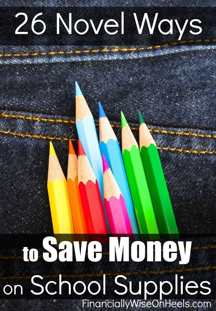 If you have kids then you know it can save you tons of cash when you save money on school supplies. Follow 26 Tips to Save Money on School Supplies today!