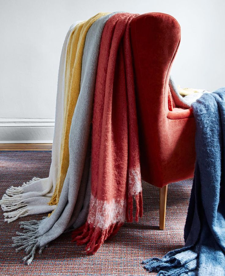 Answer to a below freezing day? Blankets on blankets. #ThrowsBeforeSnows #mywestelm