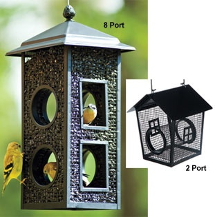 how to keep hawks away from bird feeders