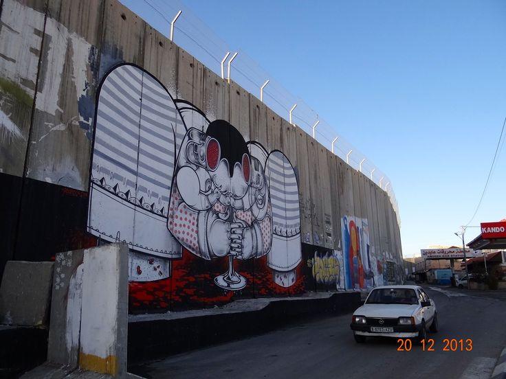 Bethlehem, Israel.  Lands in dispute.