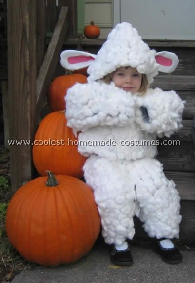 15 best christmas costumes images on pinterest carnivals cute homemade sheep and lamb costume ideas solutioingenieria Choice Image
