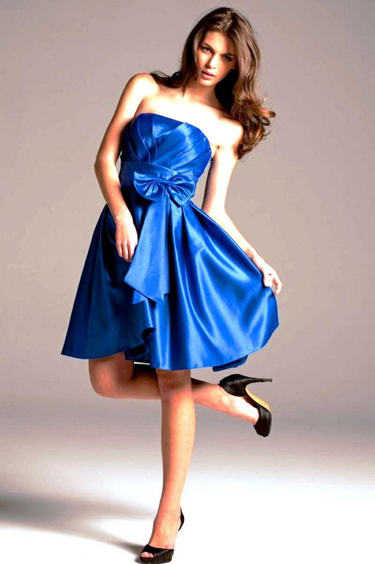 Azul electrico more blue cocktail dress bridesmaid dresses dresses for