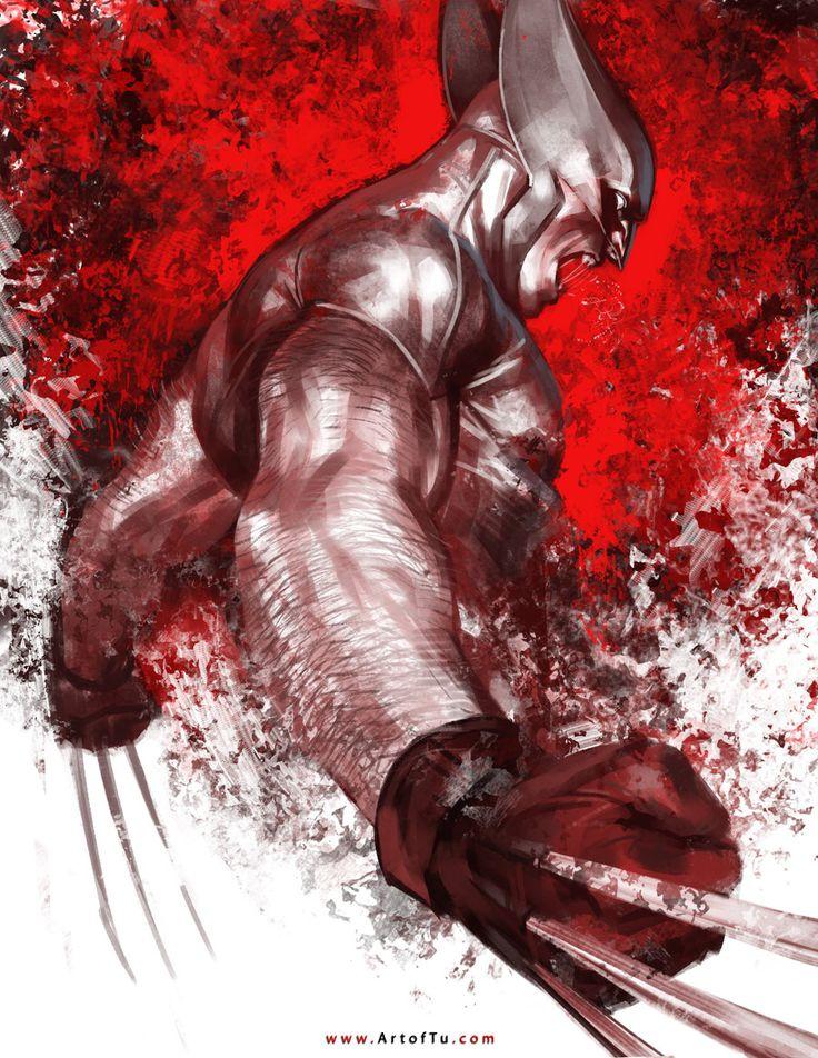 X-MEN: Wolverine by ArtofTu.deviantart.com on @DeviantArt
