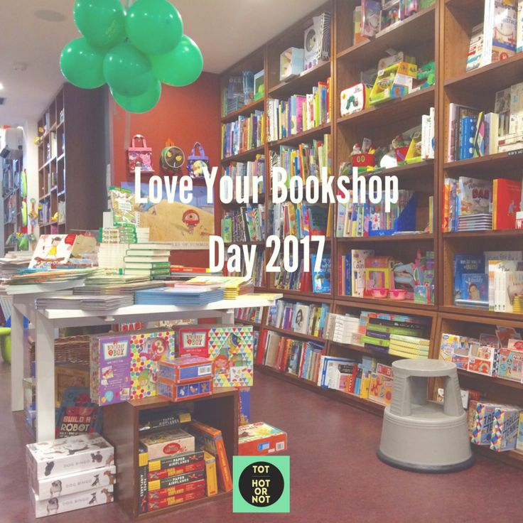 The HOT List: Love Your Bookshop Day 2017 events in Melbourne http://tothotornot.com/2017/08/love-your-bookshop-day-2017/