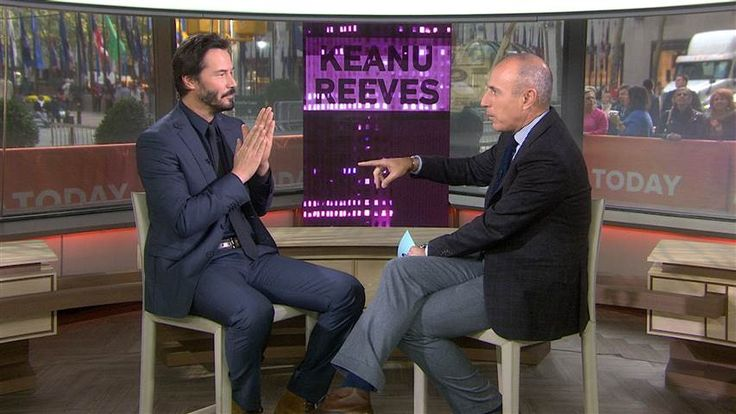 TODAY - Keanu on today!!! Latest News, Video & Guests from the TODAY show on NBC