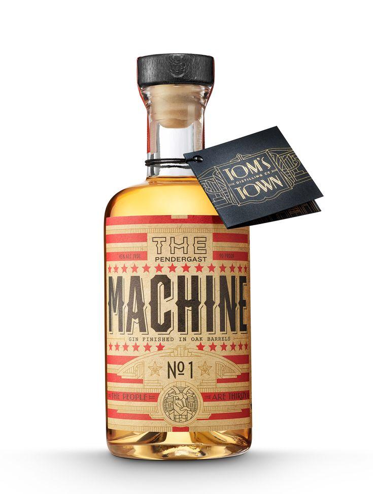 The Pendergast Machine Series Gin