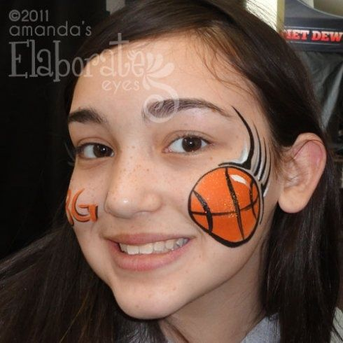 face paint kids sports - Google Search
