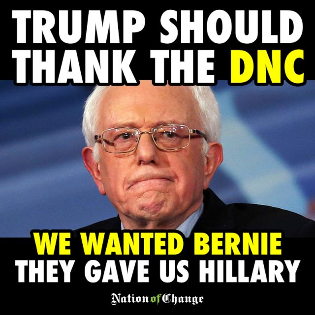 We VOTED 4 Bernie. Bernie Beat Trump In Every Poll. Nearly 90% Of Americans Give Bernie A Favorable Rating As Senator.