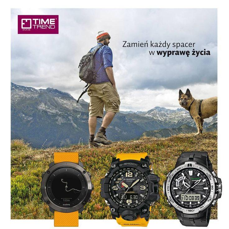 Zamień każdy spacer w wyprawę życia. To Twój czas, Twoje chwile!  #Zegarki #Suunto http://timetrend.pl/17-zegarki?selected_filters=producent-suunto  Zegarki #Casio #Protrek  http://timetrend.pl/1277-pro-trek  Zegarki Casio #G-Shock http://timetrend.pl/20-g-shock  #zegarek #timetrend #sport #podroze #gory #natura #wyprawa #czas #twojczas #twojechwile