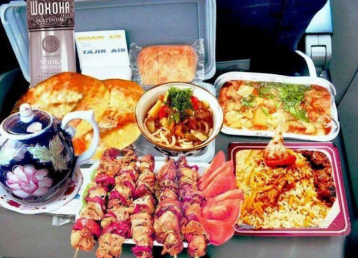 Still Think Airline Food Sucks Not On Tajik Air
