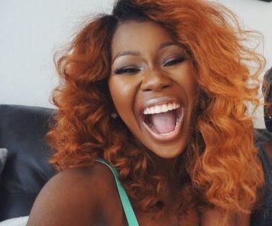 copper colored hair on dark skin women copper red hair