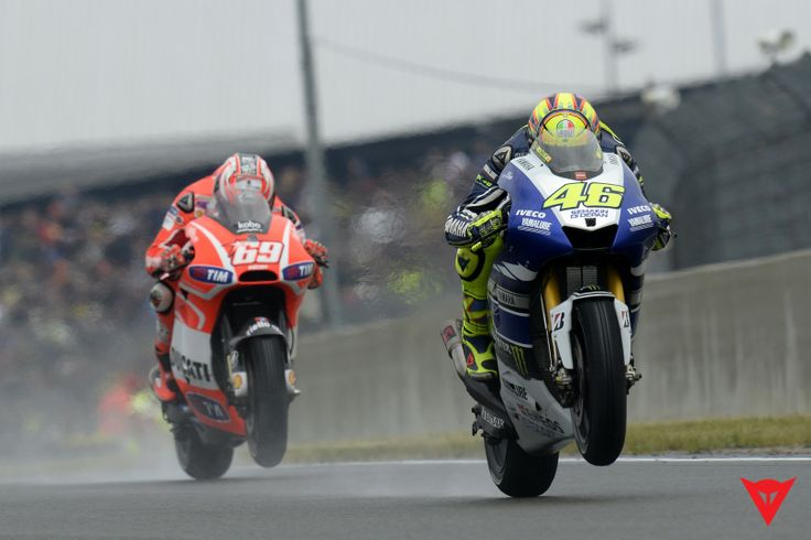 Valentino Rossi in Action - 2013 MotoGP season