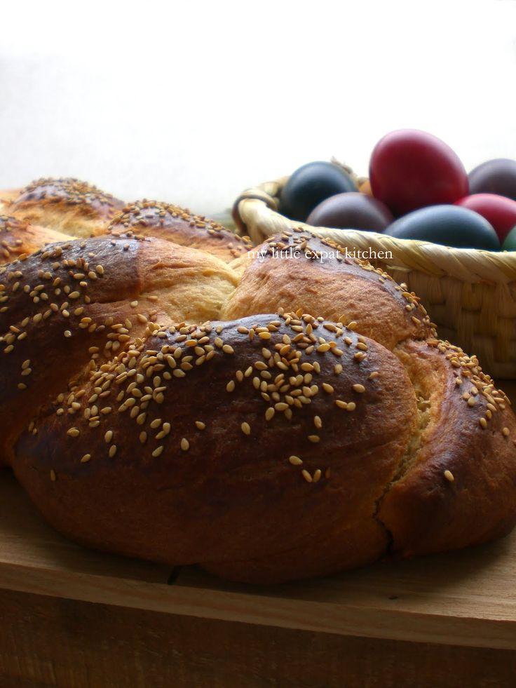 My Little Expat Kitchen: The tsoureki