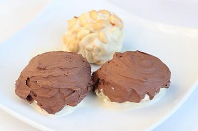 Sugar Free Snicker's Ice Cream Bars