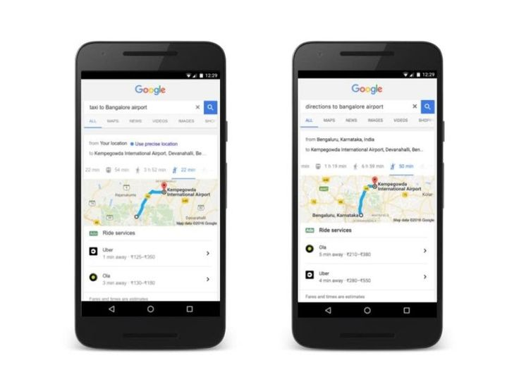 Pin on in the news you can now book an ola or uber ride