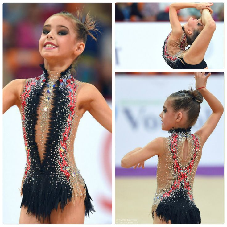 Rhythmic gymnastics leotard Mais