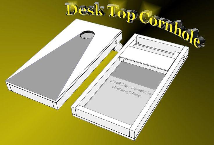 Mini Cornhole Boards Dimensions