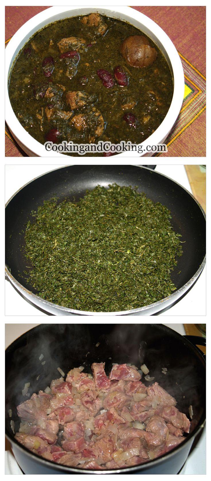 Persian Herb Stew Recipe