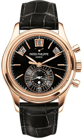 5960R-010 Patek Philippe Complications Mens 18K Rose Gold Watch | WatchesOnNet.com