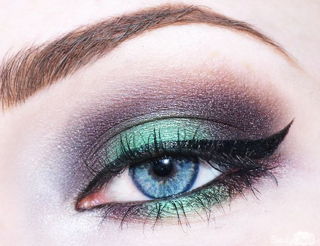Urban Decay Vice 3 Dragon Eyes Makeup Eyelook
