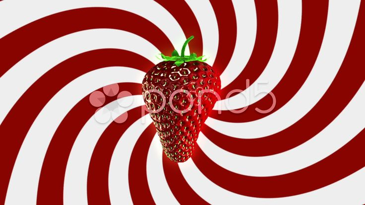 Spinning Strawberry Looping Background - Stock Footage | by maraexsoft