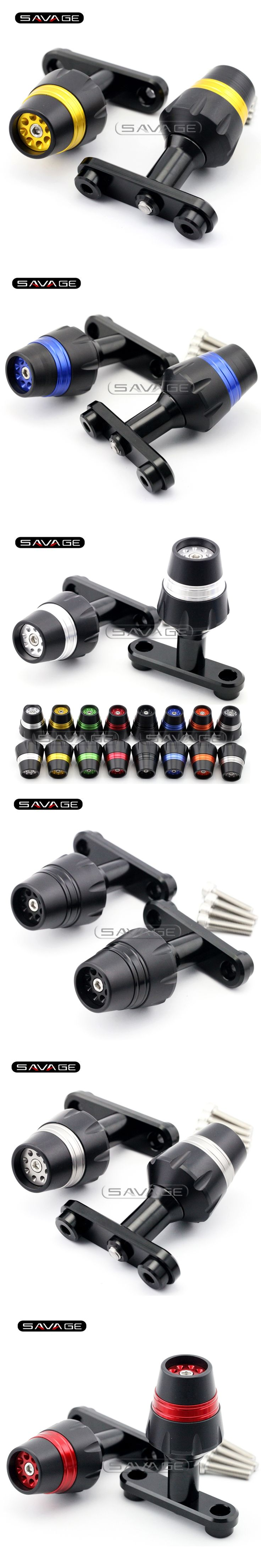 For Bajaj Pulsar 200 NS 2012-2014 Motorcycle Accessories Frame Sliders Crash Protector Falling Protection New 8 colors