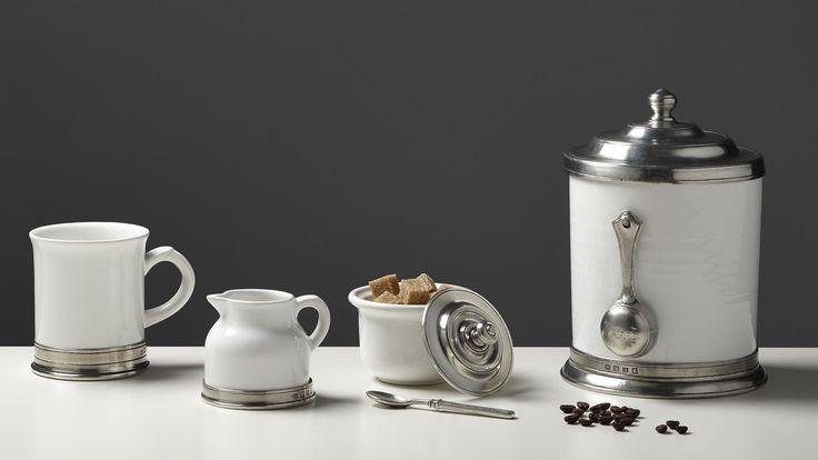 Barattolo cucina (ceramica), cm Ø16xh21,5 lt 1,4