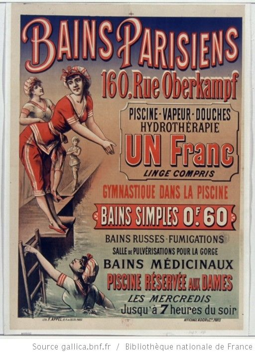 Bains parisiens 160 rue oberkampf piscine vapeur douches for Piscine oberkampf