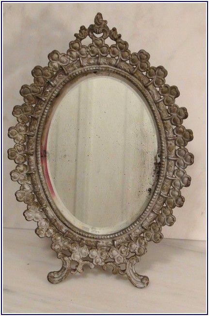 Striking Antique Vanity Mirrors