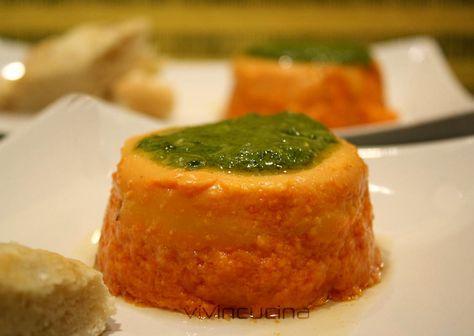 SFORMATINI DI PEPERONI CON SALSA AL BASILICO #ricettesalate
