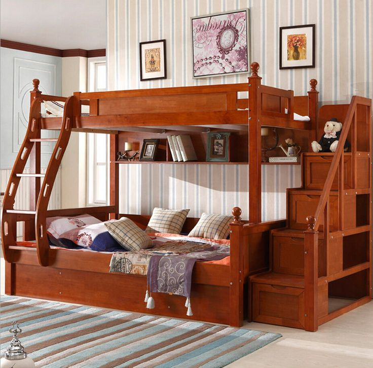 Cheap beds girls, Buy Quality wood bed sets directly from China wood tuna Suppliers:  http://www.aliexpress.com/store/1901985/search?origin=y&SearchText=bunk+bed   Webetop Customizable American Country