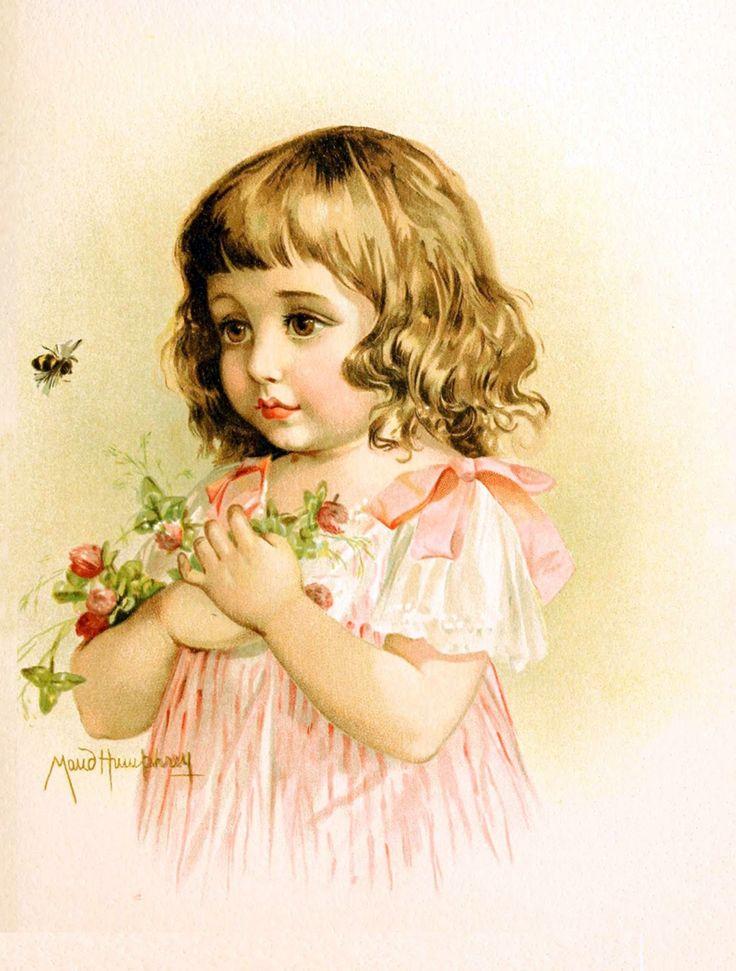 Зарубежные открытки о детях