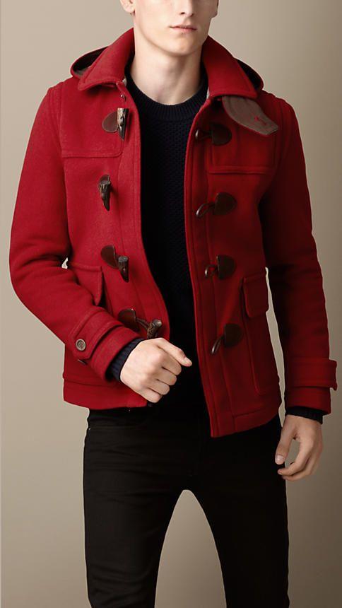 Jaqueta acolchoada de lã | Burberry