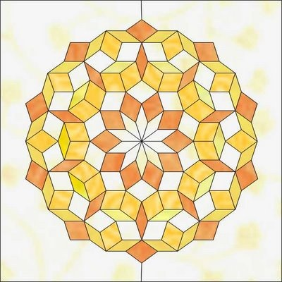 how to draw penrose tiling