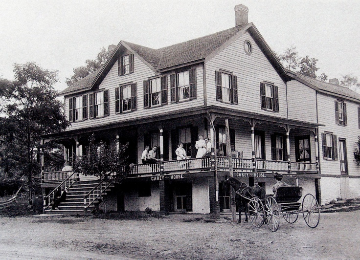 The Family Hotel in West Hurley N.Y. abt. 1910: Families Hotels, Catskil Mountain, Hurley N I, West Hurley