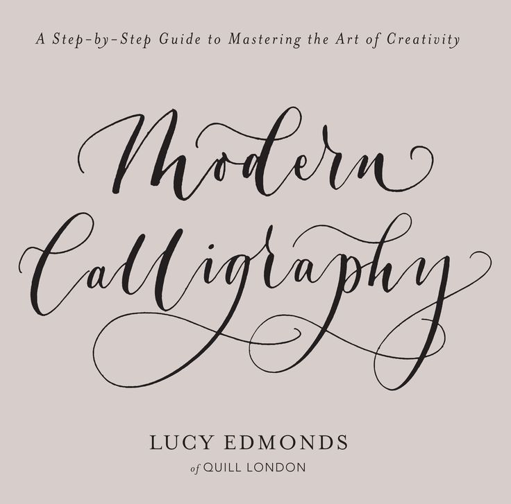 Designed for the lettering novice, Modern Calligraphy