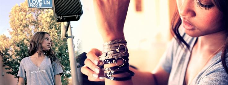WEAR LOVE Wrap Bracelets