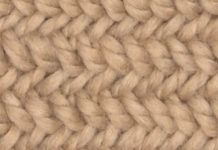Learn How to Knit the Herringbone Stitch Pattern