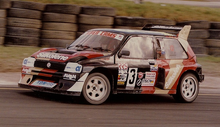 6R4 Metro - Will Gollop - Lydden Circuit 2.3 litre Biturbo